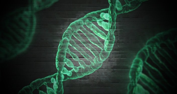 Modelo del ADN (imagen referencialo)
