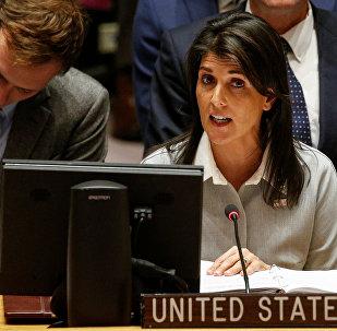 Nikki Haley, la embajadora estadounidense ante la ONU
