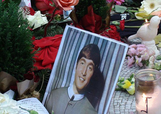 Strawberry Glades 30 años después del asesinato de John Lennon. Nueva York.