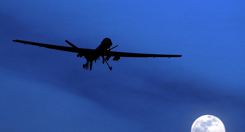 Un dron estadounidense sobrevuela Pakistán (archivo)