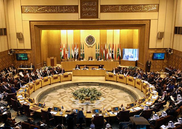 Reunión de los cancilleres de los países árabes