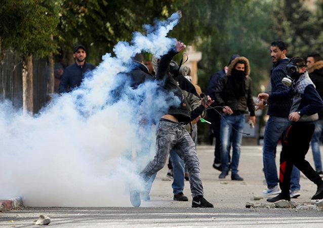 Protestas en Belén