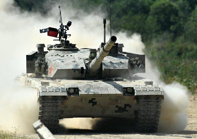 Un tanque chino (imágen referencial)