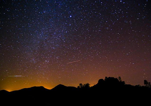 El cielo nocturno (imagen ilustrativa)
