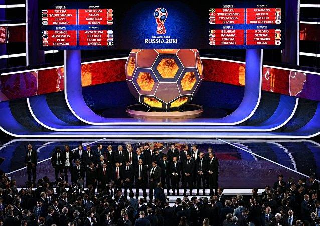 Sorteo de los grupos del Mundial de Rusia 2018