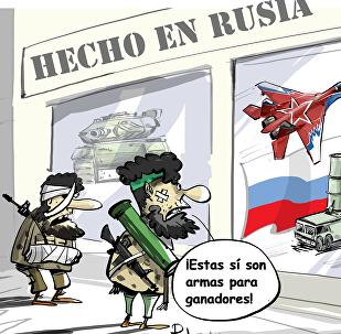Solo aptas para vencedores: así son las armas 'made in Russia'