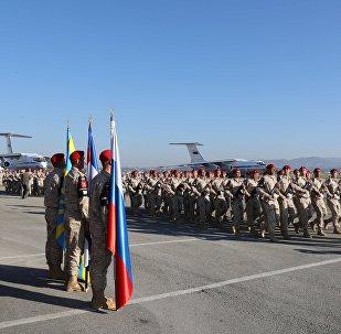La base aérea de Hmeymim, Siria