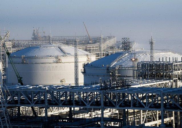 Una planta rusa de producción del GNL (imagen referencial)