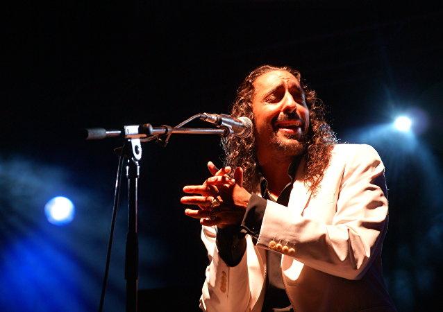Cantaor español Diego El Cigala (archivo)