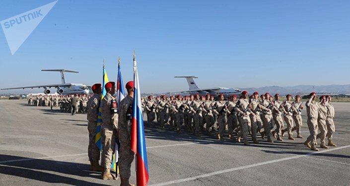 Policía militar de Rusia en Siria