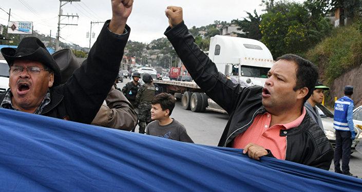 Protestas de Honduras