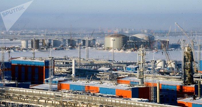 La planta rusa Yamal