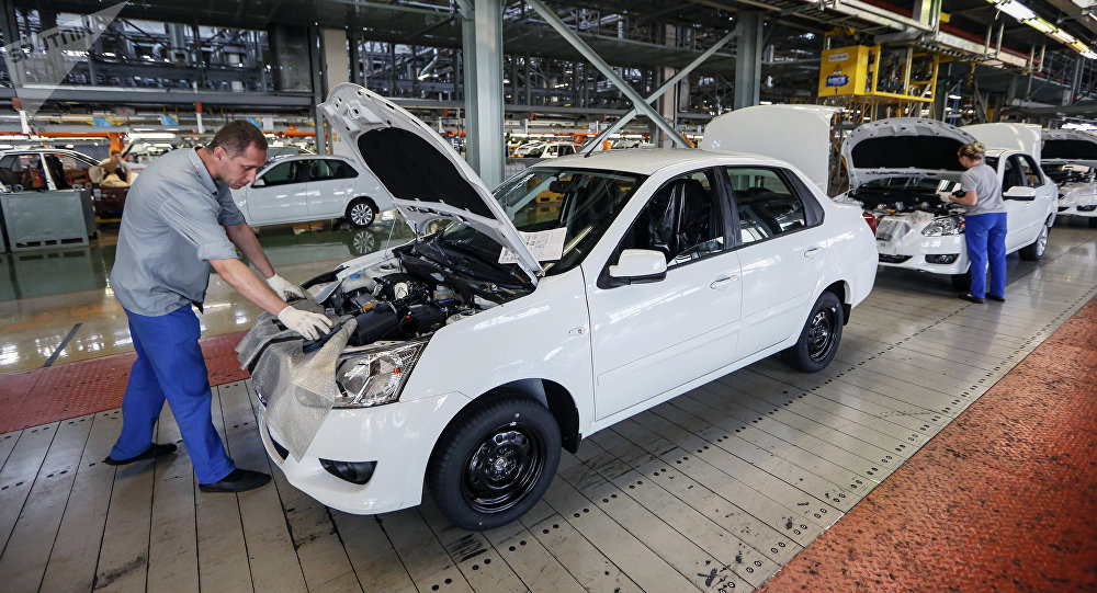 La producción de los automóviles