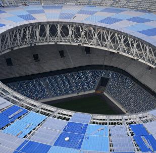 Construcción del estadio Nizhny Novgorod