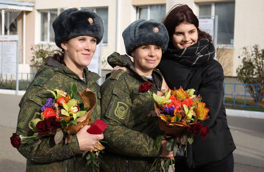 Los 'ángeles' rusos: la unidad médica especial de Rusia regresa de Siria