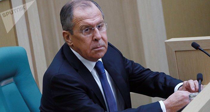 Serguéi Lavrov, el ministro interino de Asuntos Exteriores de Rusia