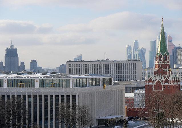 Moscú, capital de Rusia (imagen referencial)