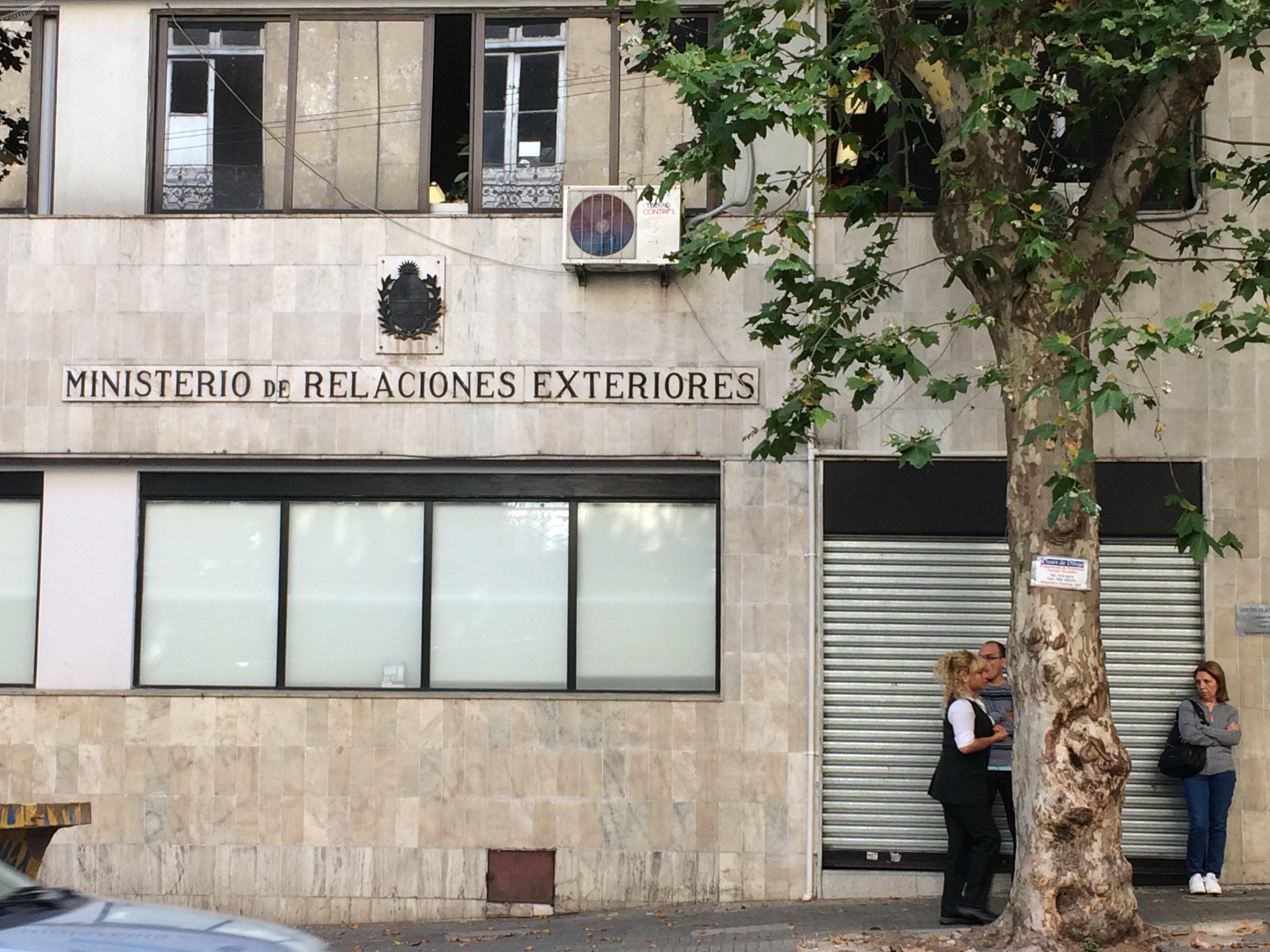 Ministerio Relaciones Exteriores, Uruguay