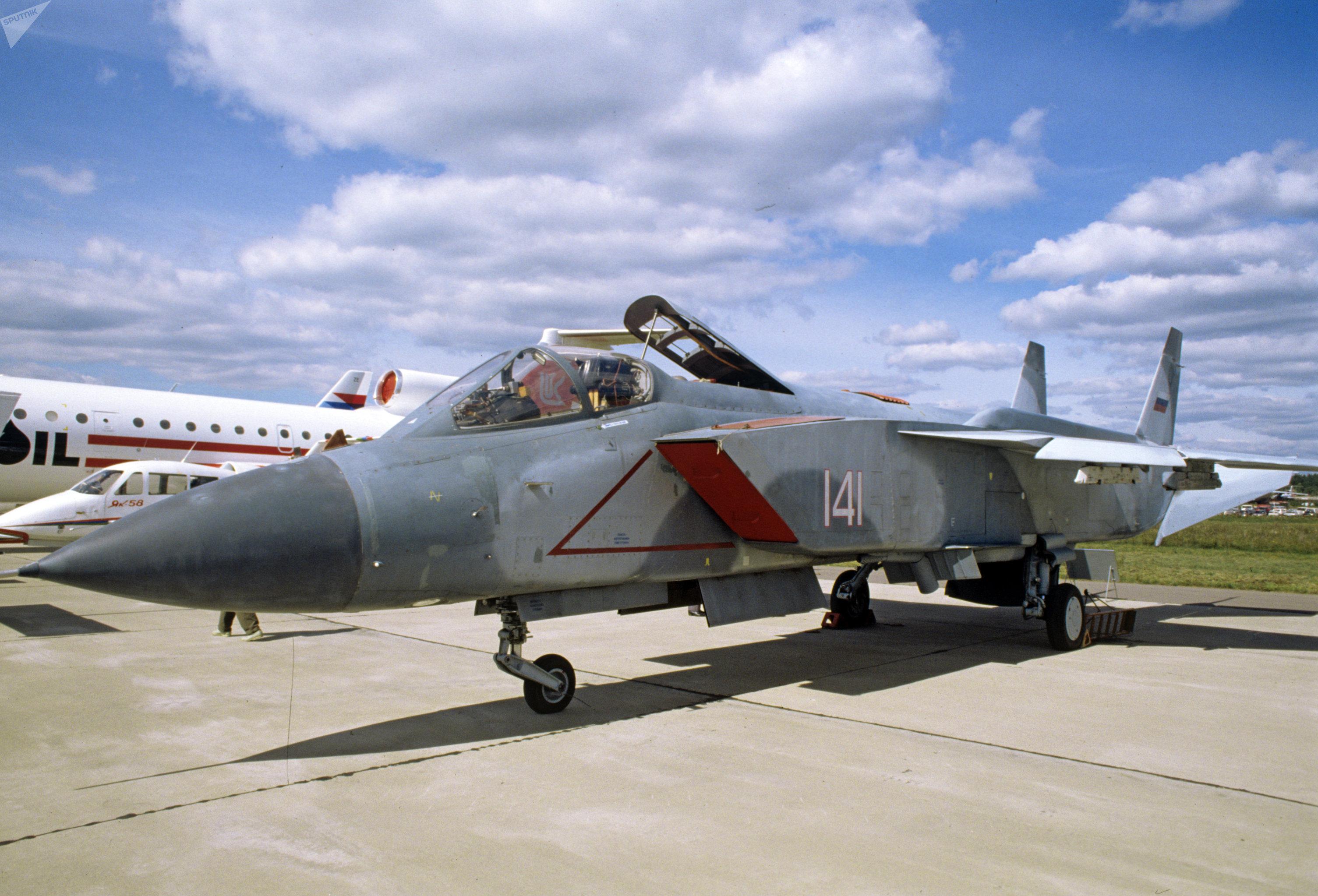 El caza Yak-141