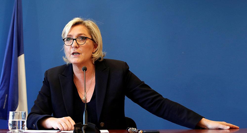Marine Le Pen, líder de la extrema derecha francesa