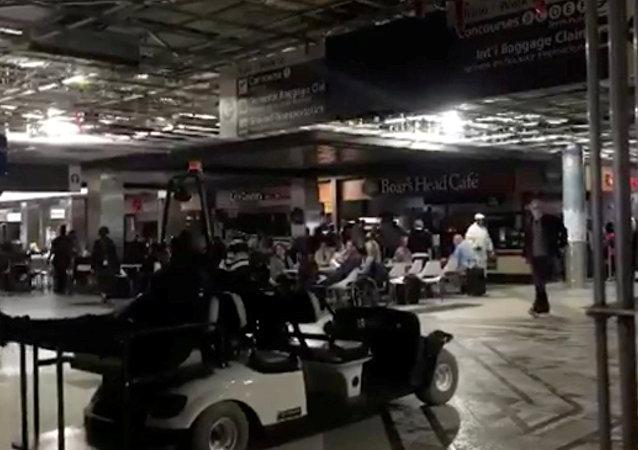Apagón en el aeropuerto de Atlanta, EEUU