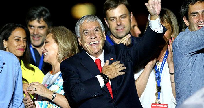 Sebastián Piñera, presidente electo de Chile
