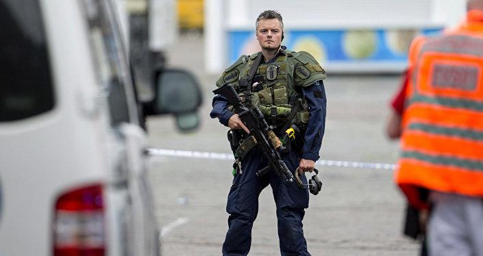 Un policía de Finlandia (archivo)