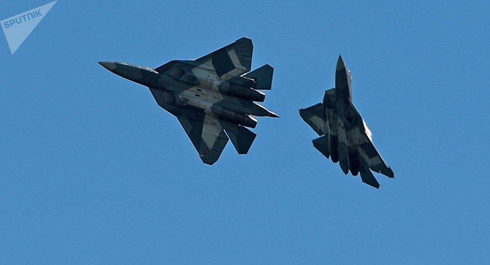 Los caza rusos Su-57