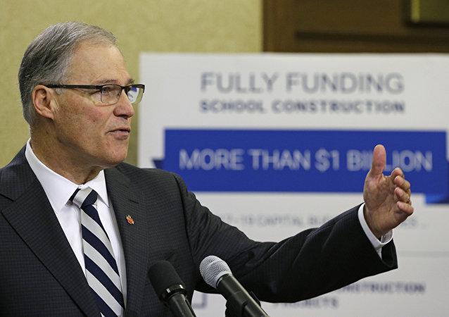 Jay Inslee, el gobernador de Washington
