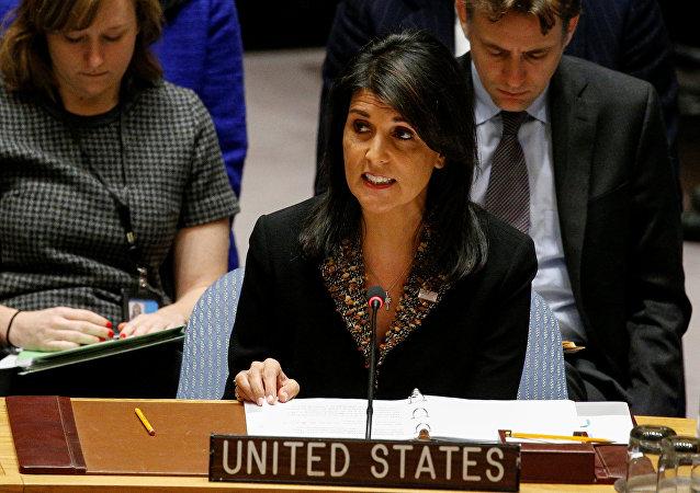 Nikki Haley, la embajadora permanente de EEUU ante la ONU