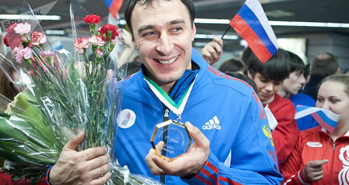 Alexey Voevoda, el atleta ruso de bobsleigh (archivo)