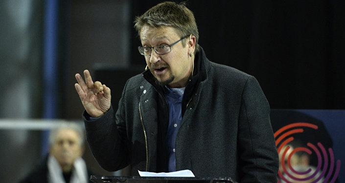 Xavier Domènech, líder de la Catalunya en Comú-Podem