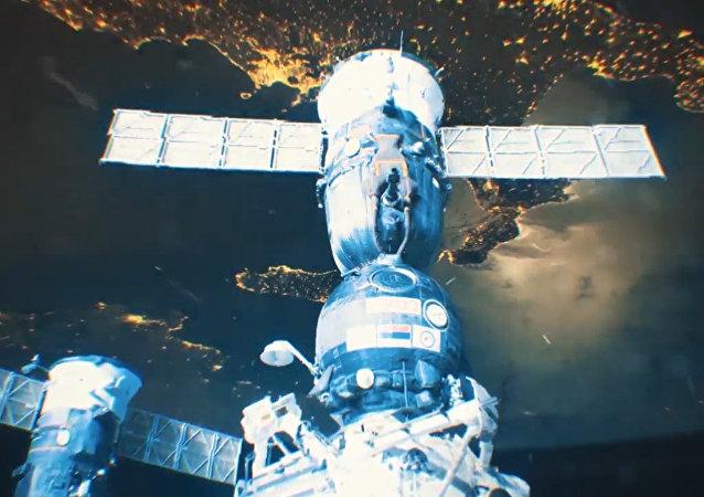 Un cosmonauta toma impresionantes fotos espaciales de las sedes del Mundial