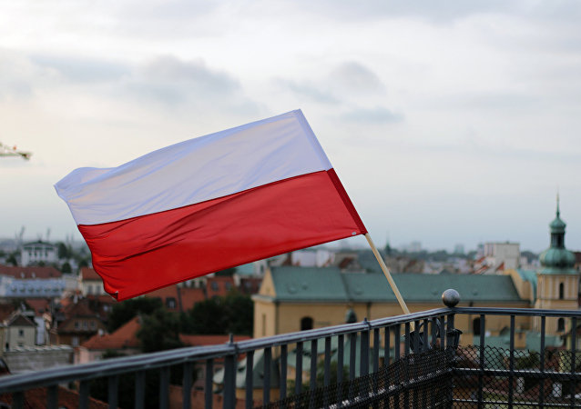 Bandera de Polonia (imagen referencial)