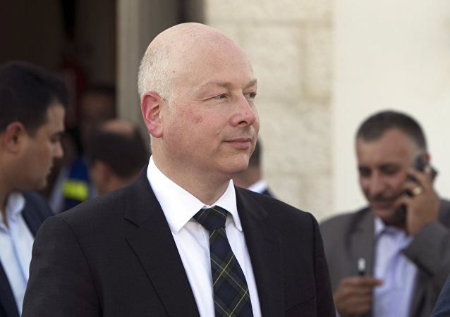 Jason Greenblatt, el enviado especial del presidente de EEUU para el conflicto entre Israel y Palestina