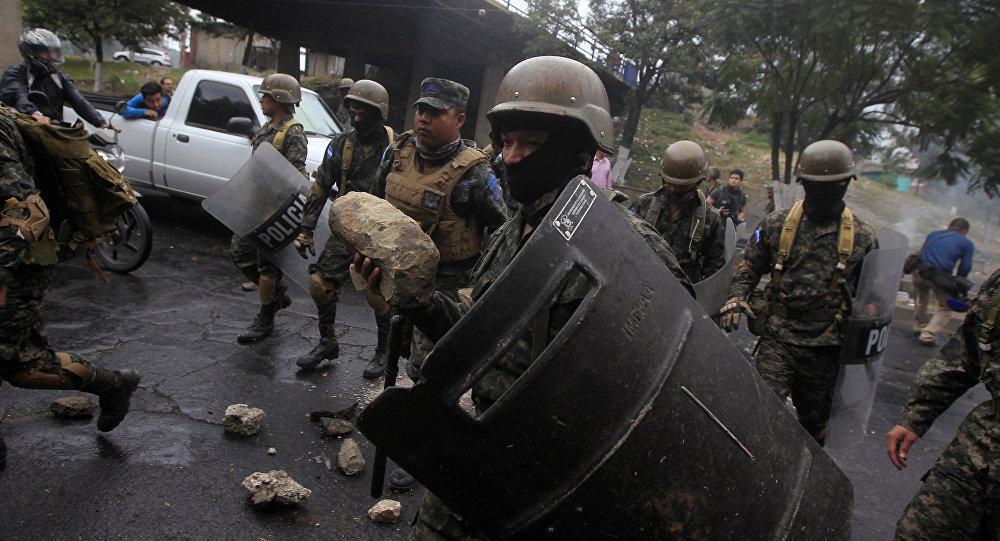 Condenan violencia en Honduras durante protestas