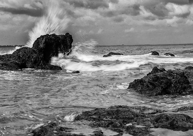 Las rocas en Quezón, Filipinas (imagen referencial)