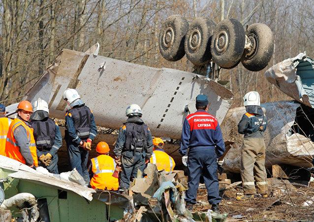 Accidente del avión del presidente de Polonia Lech Kaczynski