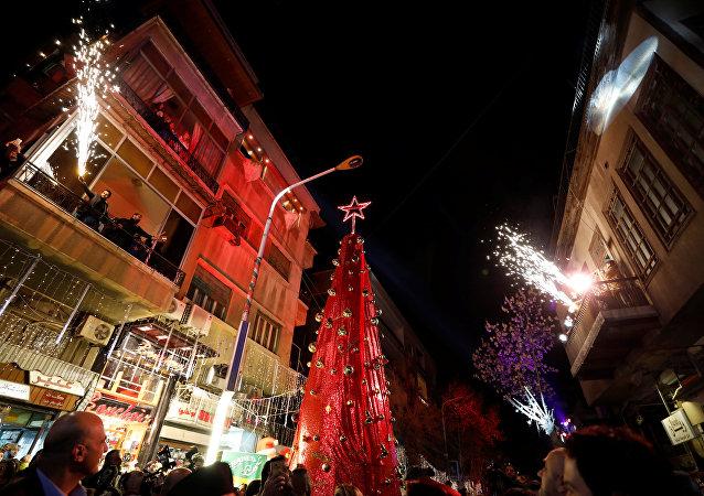 Navidad en Damasco, Siria