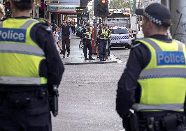 Policía de Melbourne, Australia