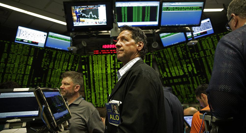 El estreno del bitcoin en la Bolsa de futuros de Chicago (archivo)