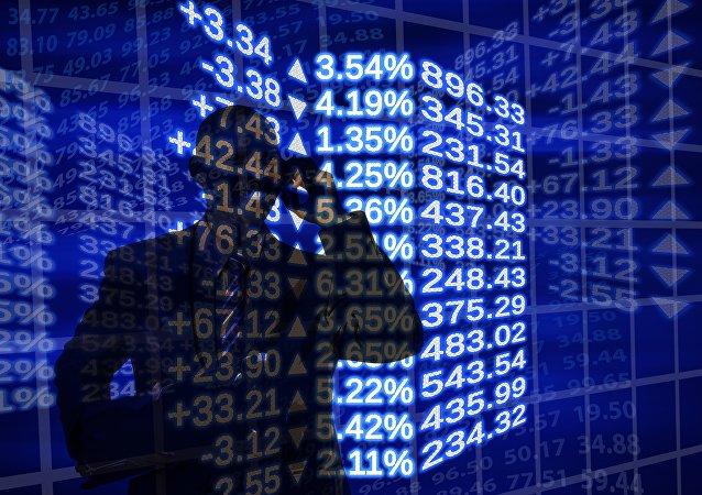 Bolsa de valores, imagen referencial