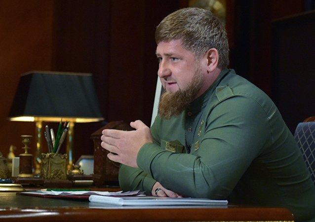 Ramzán Kadírov, el jefe de la república norcaucásica rusa de Chechenia