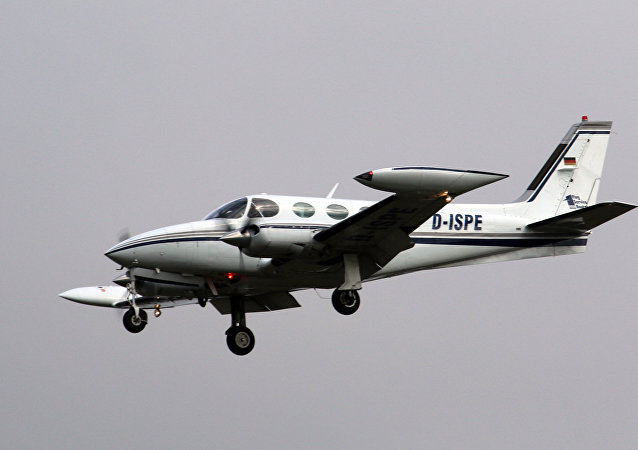 Una aeronave Cessna 340 (archivo)