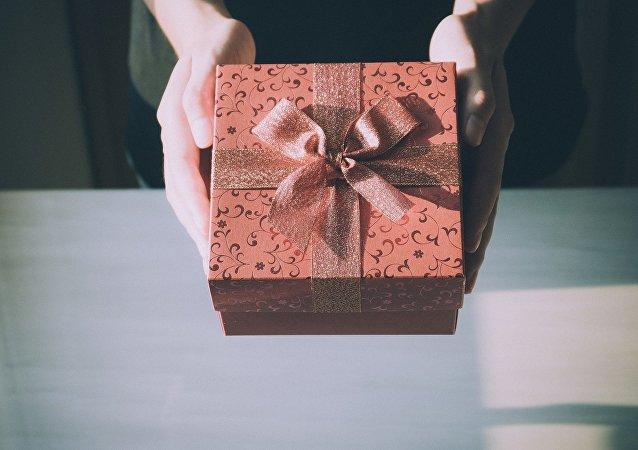 Un regalo (imagen referencial)