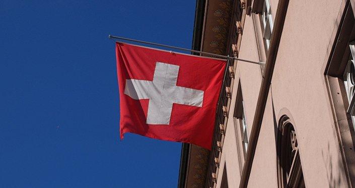 La bandera de Suiza
