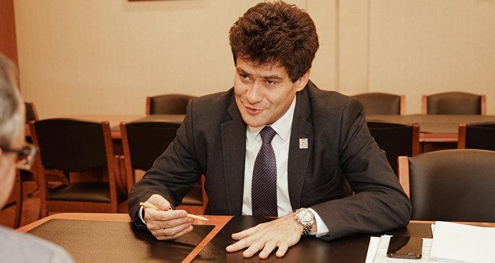 Alexandr Visokinski, vicegobernador de la región de Sverdlovsk