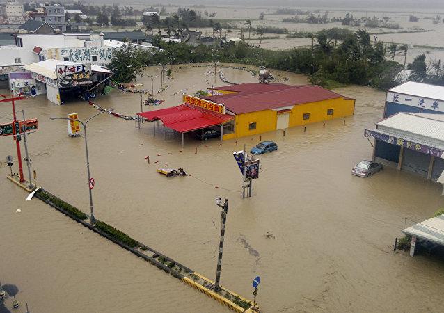 Consecuencias del tifón Tembin