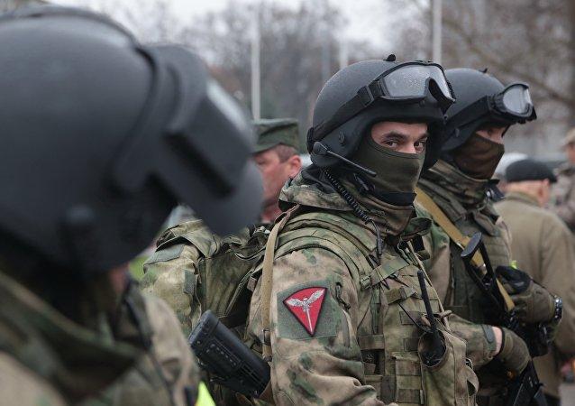 La Guardia Nacional de Rusia
