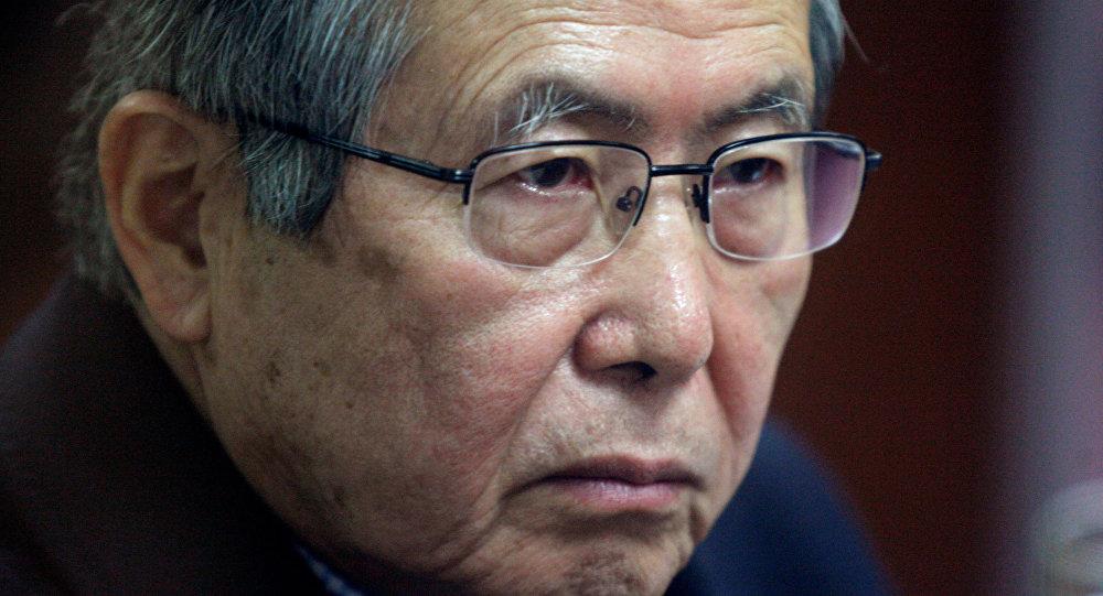 Alberto Fujimori, el expresidente peruano (archivo)
